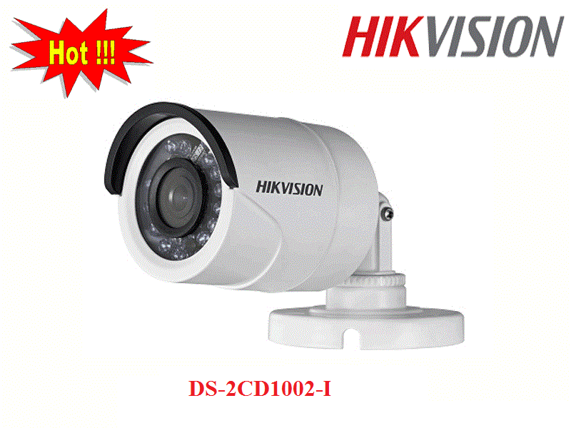 CAMERA THÂN TRỤ IP DS-2CD1002-I 1MP